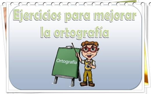 curso de ortografía con ejercicios