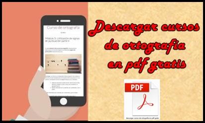 descargar cursos de ortografía en pdf gratis