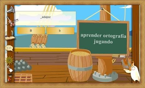 aprender ortografía jugando